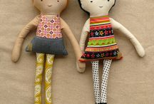 Fabric dolls / by Silvia Sutters