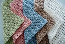 Crochet Dishcloths and Coasters