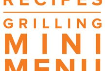 Grilling Mini Menu May 2015 / by Once A Month Meals