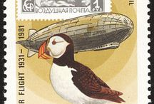 Airships Stamps