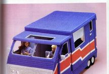 plastic canvas camper