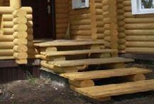деревянные ступени