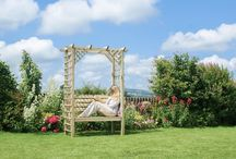 Garden Arbour Seats / Browse our full range of garden arbour seats and buy online today.