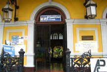Palacio de la Cultura / Nuestro bello local / by APC Spanish Schools Granada Nicaragua