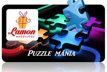 Puzzle mánia / Átlag 40% árengedmény, 3D fa puzzle játékok egyedi árakon