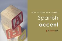 Free Spanish pronunciation lessons / Speak Spanish like a native with these easy pronunciation lessons & tips.