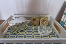 HOW TO MAKE YOUR LITTLE TRAY GO FROM BLAH TO FANTASTIC / Cart for kids/craft supplies  https://homeiswherethejourneybegins.blog