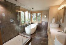 Home Bathroom Inspiration / Ideas & Designs to help give you some bathroom inspiration