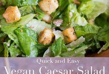 vegan saláty