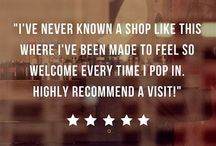 Reviews / Check out our wonderful 5* reviews from our customers who have enjoyed the Vape Emporium experience. If you want to leave a review of your experience visiting our stores then find us on Google or Facebook.