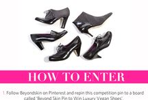Beyond skin pin to win luxury vegan shoes