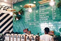 coffee shops. / by Toni Lee