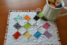Mug rugs, including Christmas / by Jo Milton