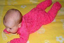 детский комбинезон спицами / Детское вязание