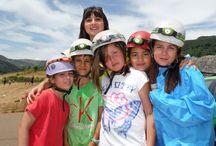 Espeleología Campamentos de inglés GMR