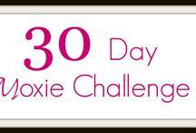 30 Day Moxie Challenge: Change a habit, transform your life!