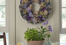 Spring Wreaths & Decorating