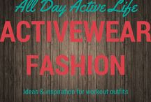 Activewear Fashion: Outfit ideas and inspiration / Activewear that is cute will most certainly make working out more fun.  Here are ideas and inspiration for workout ideas and outfits.