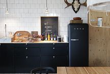 Scandinavian kitchen / Ideas for photo shoot Scandinavia style for Sara Page design