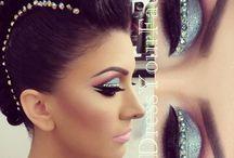 Strass makeup