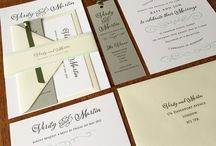 Green Wedding invitations & Stationery / Pastel green, pale green, lime green, sage green, meadow green, bright green, bottle green, emerald green, what ever shade of green you are looking for we can match it for your wedding stationery.