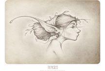 Fae drawings