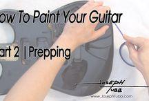 paint your guitar