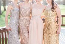 Bridesmaid dresses Nics wedding