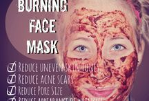 Face care! / taking care of my face in general, some makeup tricks, diy masks, etc