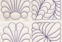 Free motion & custom quilting patterns/templates / by Debbie Hayes