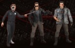 """Terminator Series 2 / The Terminator Series 2 collection includes Battle Damaged Tech Noir T-800 with two different heads, Steel Mill T-1000 with two different heads, and the Police Station Assault T-800 with two different heads. Each figure stands 7"""" tall and features mutiple points of articulation along with movie-accurate accessories."""