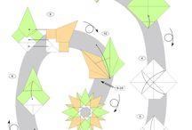 ORIGAMI STAR / moduulitähti, origamitähti