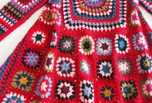 Granny square, crochet