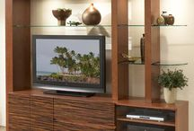 TV Wall Unit / TV Wall Unit: Custom made TV Wall unit Manufacturer in Pune