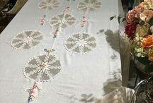 tasarım masa örtüleri