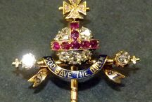 QUEEN VICTORIA'S 1887 GOLDEN JUBILEE STICK PIN