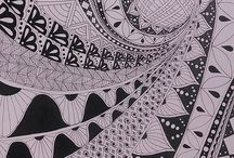 Zentangle & doodles