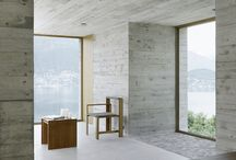 Concrete Architecture / Modern, plain and minimalistic. Bare concrete and similar seamless surface solutions become more and more popular in today's concepts and designs.