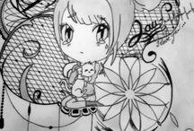 mes dessins. ❤