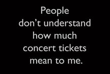 concerts, music