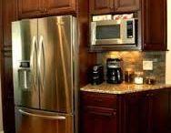 Kitchen - Cabinet next to fridge