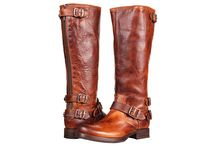 Don't Put It Out With Your Boots, Ted! / Good ole leather boots.