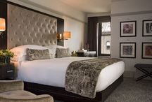 Interior Decor / Inspiration for decorating rooms mainly from Four Seasons and W Hotels