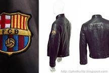 Jaket kulit sepak bola