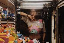 Claw machine photoshoot