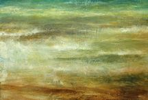 Jim Wright / Jim Wright's work is an emotional response to his experiences in the more remote areas of the moors, mountains and coastline of Northern Britain, feeling the powerful forces of nature is particularly exhilarating and important in his work.
