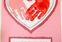 valentine's crafts / by Rita Smith