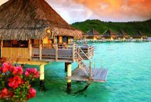 Awesome places / Nature, cities, sun, snow, sea, beach