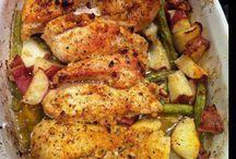 Chicken & vegies bakes