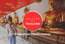 #ClassPassThaiGiveaway / In a celebration of new experiences and goals in the new year, we're partnering with @ClassPass to give you the ultimate gift of adventure! You and a friend could win round-trip tickets to Bangkok, Thailand to experience Songkran (Thai New Year) this April, plus a 5-night stay at five-star luxury hotel The Peninsula Bangkok.  Here's how to enter: https://bitly.com/ClassPassThaiGiveaway